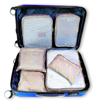 EVEK Packing Cubes Set