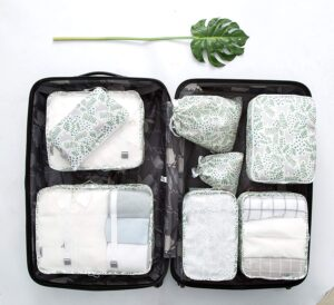 EVEK Packing Cubes Organizers Set