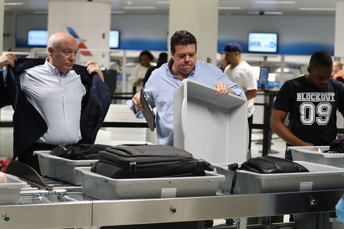 You can get through the Airport Security Line with ease