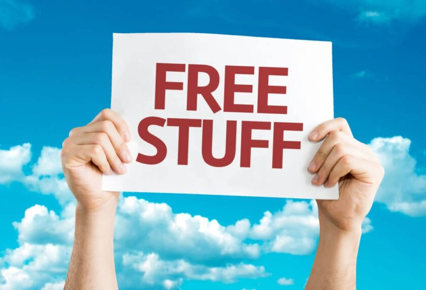 Free Items You Can Get Today