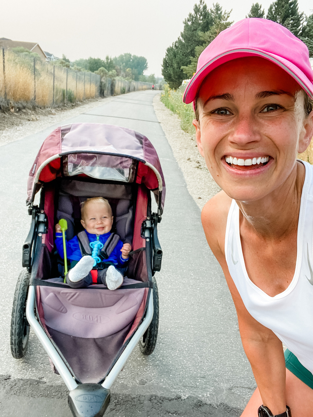 Tips to Run with a Baby